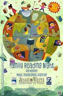 Family Reading Night 2020 with Mrs. Pruitt