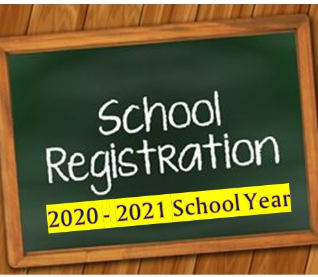NORTH GREENE REGISTRATION – 2020-2021