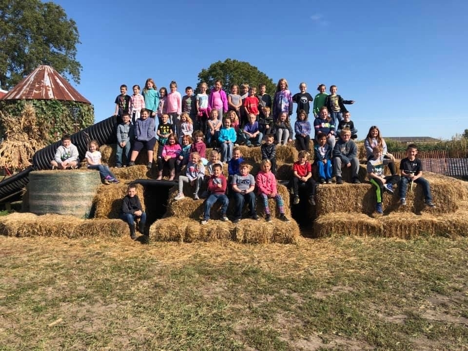 3rd Grade Visits Greene Fields Farm