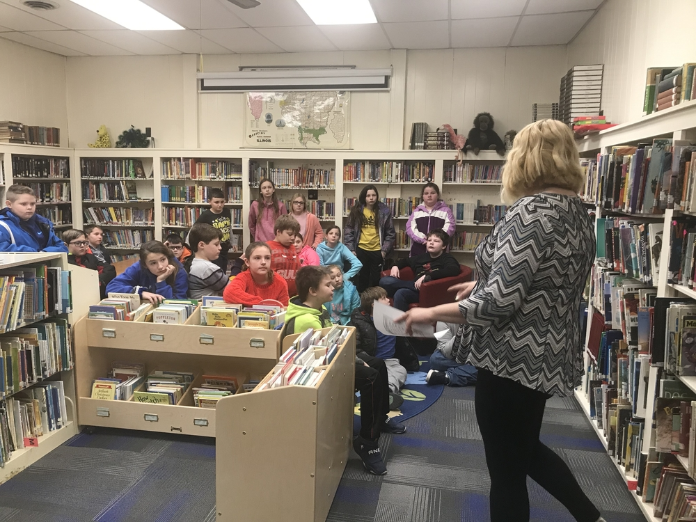 "5th Grade ""Checks Out"" Local Libraries"