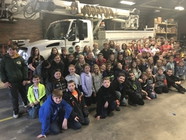 6th Graders Visit IL Electric Cooperative