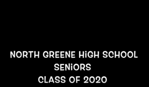 North Greene High School Seniors Class of 2020